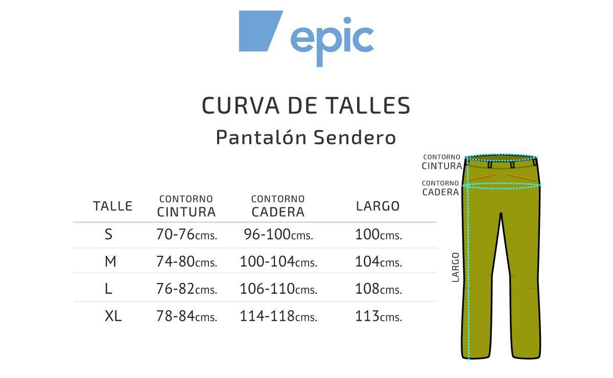 Epic Sendero Pantalón Softshell
