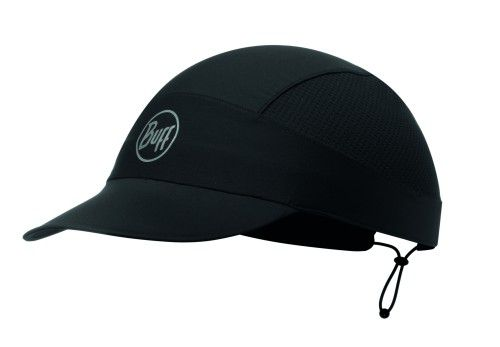 Buff PackRun Cap R-Solid Black