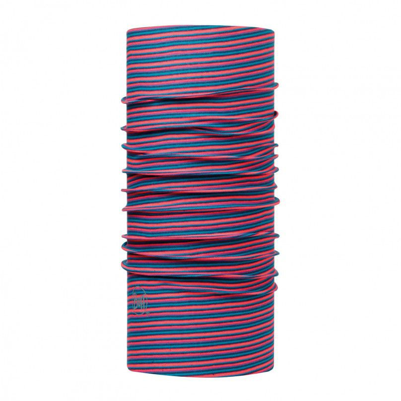 Buff Pink Fluor Stripes