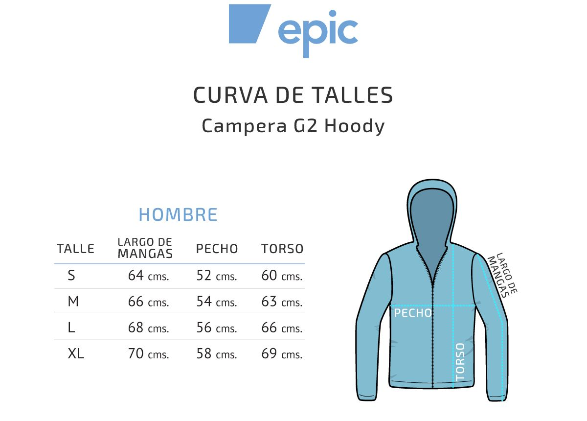 Epic G2 Campera Hoody Polarvent