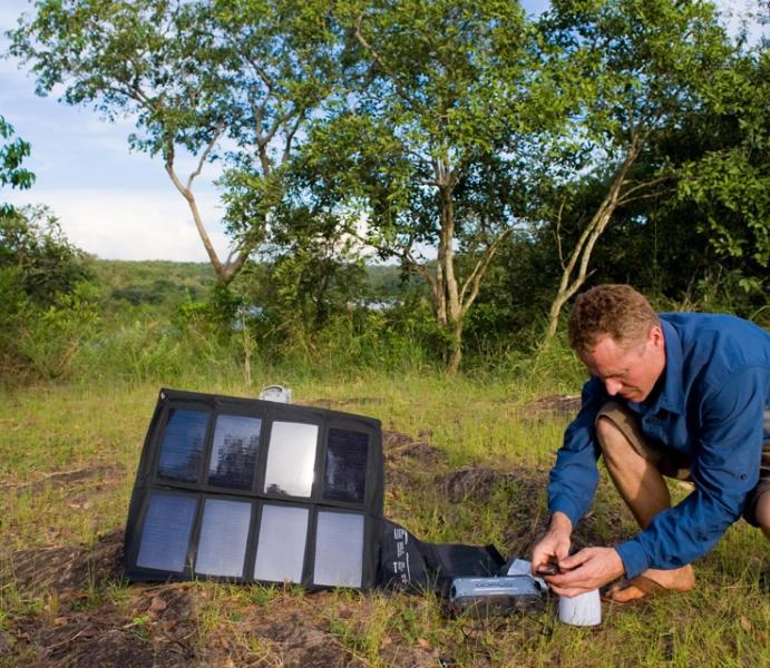 Goal zero panel solar nomad 27 naka outdoors tienda de for Panel solar pequeno