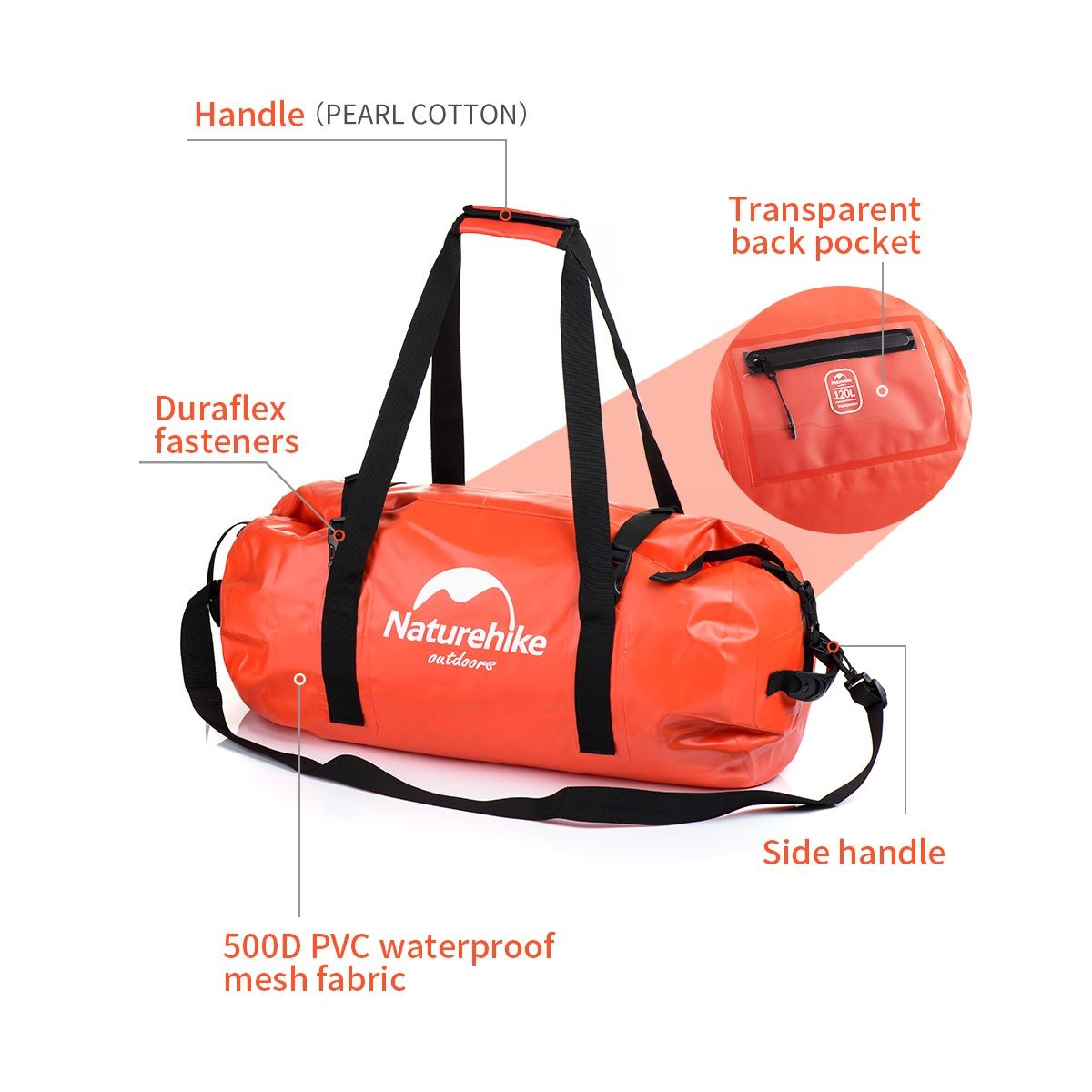 Naturehike Bolso Estanco 120L
