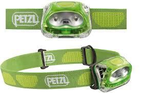 Linterna frontal Petzl Tikkina color verde