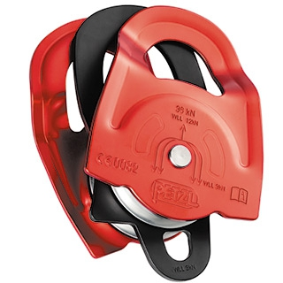 Polea Prusik doble Petzl Twin