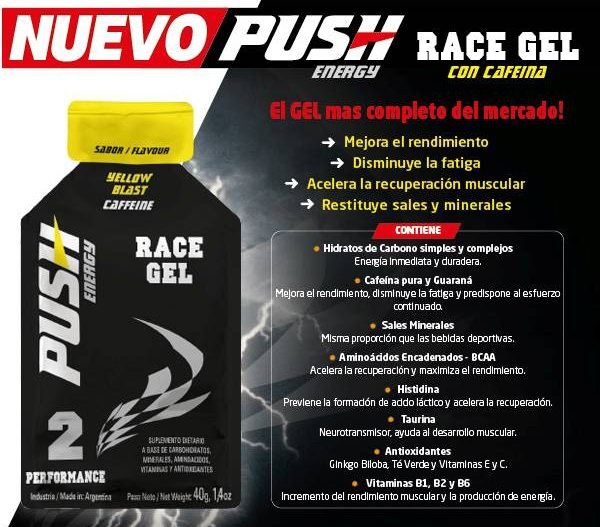 Push Race Caffeine Gel