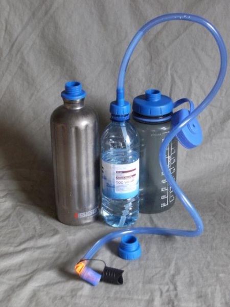 Source Convertube SEP - Kit para usar cualquier botella