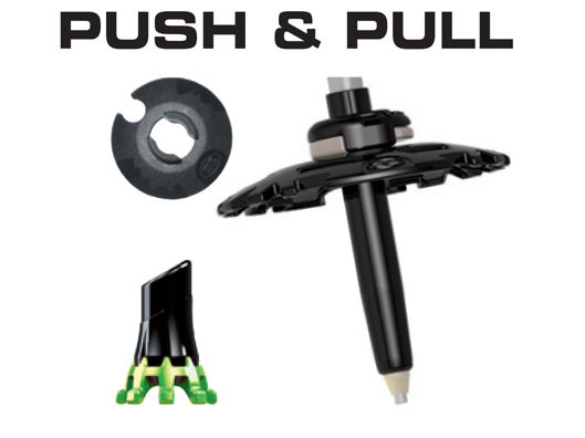 TSL Connect Alu 2 Cross ST push pull